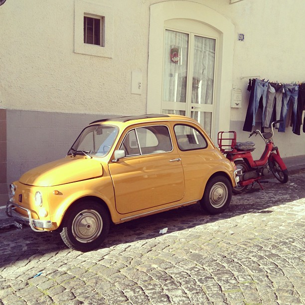 Blast from the past #fiat500 #findyourfiat December 30, 2012 at 0517PM