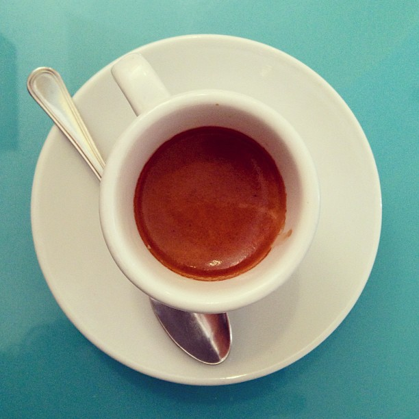 Last #espresso of 2012. #italy #coffee December 31, 2012 at 1156AM