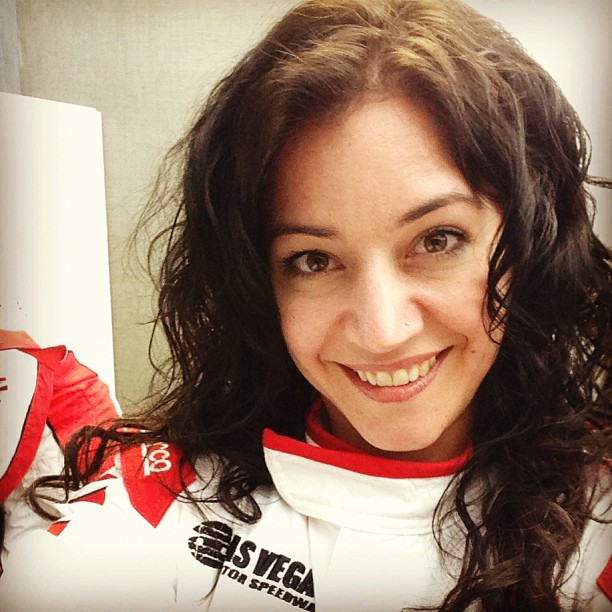 Getting ready to race a #Ferrari ) #lasvegas February 07, 2013 at 1117PM