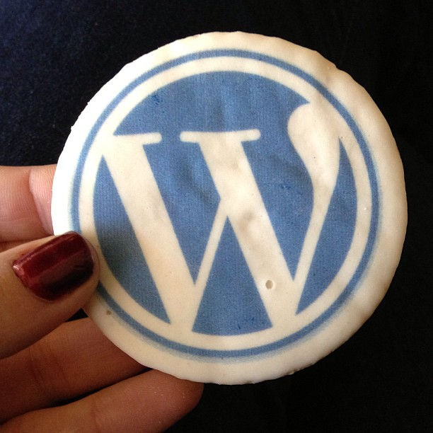 #WordPress cookies are the perfect companion to our work meetup discussions ) February 03, 2013 at 0856PM