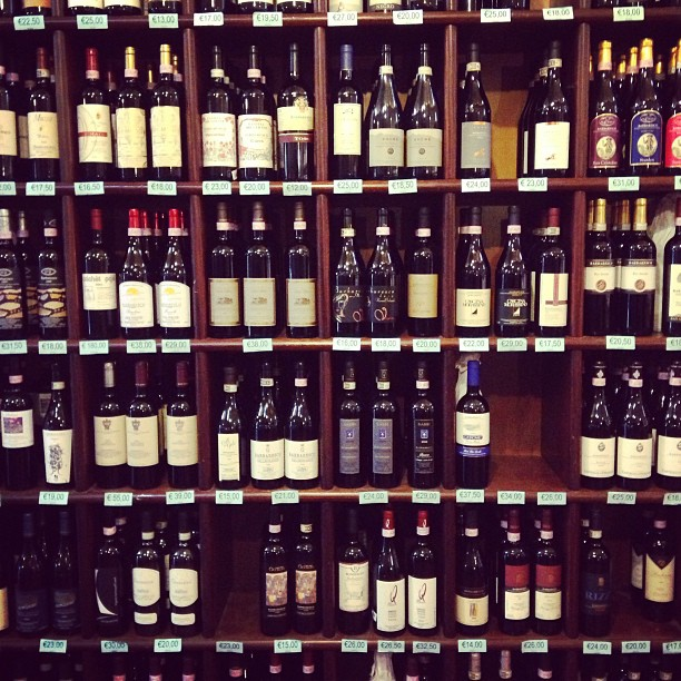 When in Barbaresco, drink...a wall of #Barbaresco. #vino #italy #wine March 29, 2013 at 0412PM